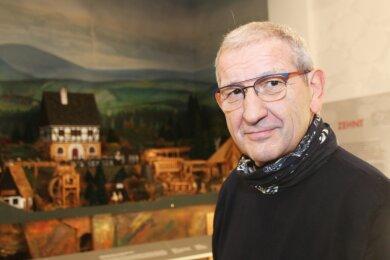 Erich Fritz nimmt Abschied als Geschäftsführer, aber nicht von der Freiberger Region.