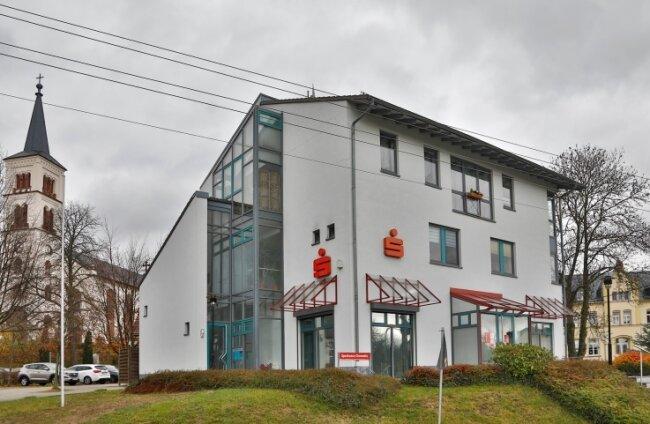 Die Filiale in Callenberg soll schließen. Das Kreditinstitut gibt wirtschaftliche Gründe an.