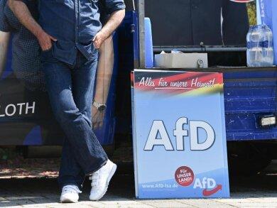 Der mögliche Wahlsieg der AfD war in den letzten Tagen das beherrschende Thema im Wahlkampf.