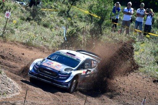 Ogier und Co-Pilot Ingrassia im Ford Fiesta WRC