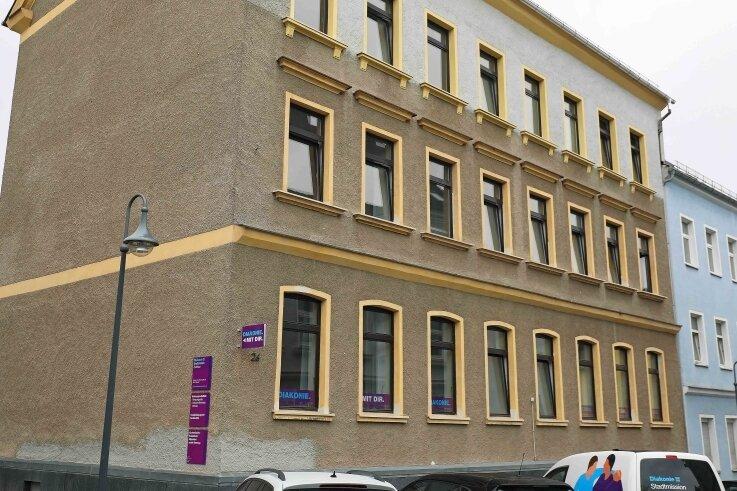 Die Diakonie-Stadtmission Zwickau bündelt ihre Dienste seit kurzem im Gebäude an der Freiherr-vom-Stein-Straße 26 in Werdau.