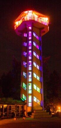 Der Turm am Berggasthaus Scheibenberg