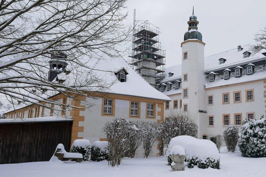 Zu jeder Jahreszeit ein Hingucker: Schloss Blankenhain.