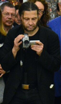 Knut Dietz bei einer Kulturveranstaltung.