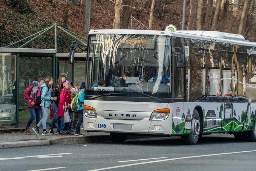 Der Schülerbusverkehr im Vogtland wird bei den einzusparenden Fahrbahnkilometern durch den Zweckverband mit betrachtet.