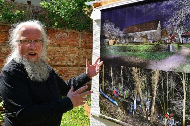 Von Lichtmalern und Klangkünstlern: Das Kulturzentrum an der frischen Luft