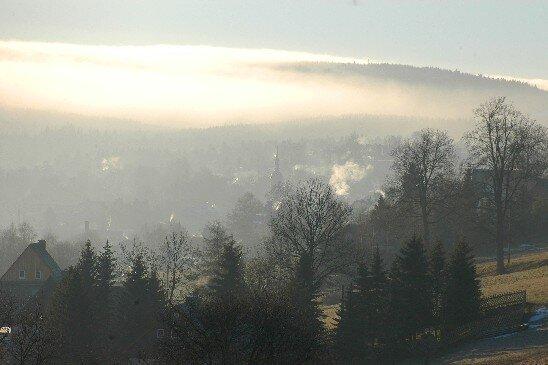 Sogenannter Böhmischer Nebel: Gehört er bald der Vergangenheit an?
