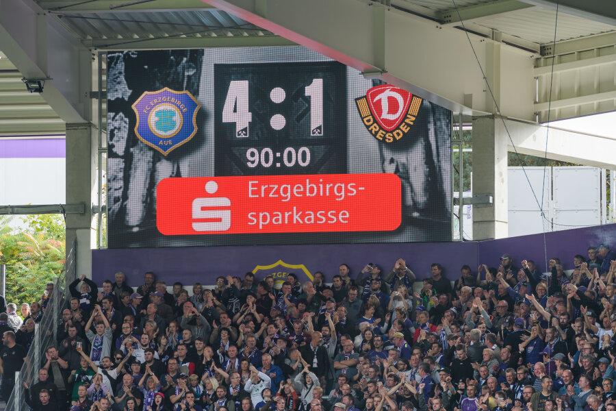 Das Spiel endete 4:1 für den FCE.