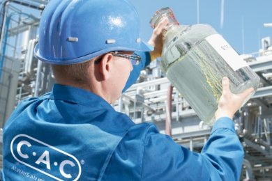 Die wichtigste Prozessstufe in der Herstellungskette setzte der Chemnitzer Chemieanlagenbau in einer zur TU Bergakademie Freiberg gehörenden Demonstrationsanlage um.