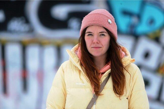 Sarah Mühl aus Leipzig hat früher wegen Depressionen die Schule geschmissen. Heute weiß sie, mit der Krankheit umzugehen.