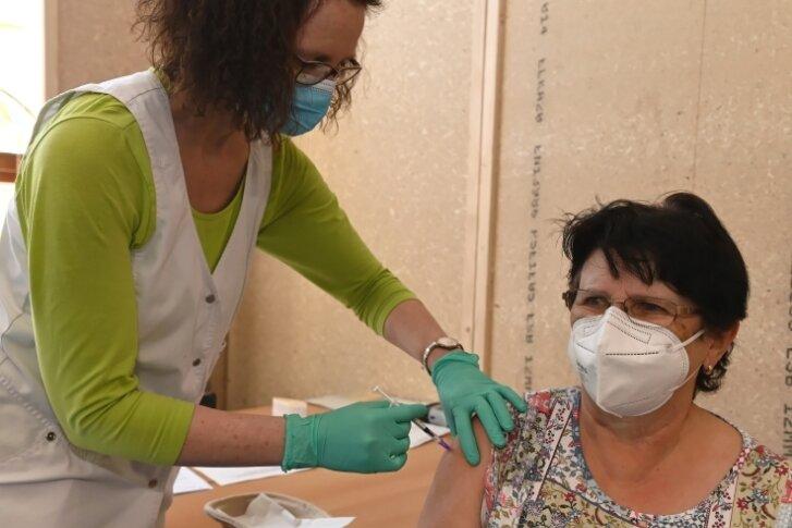 Impfaktion in Oberschule Eibenstock