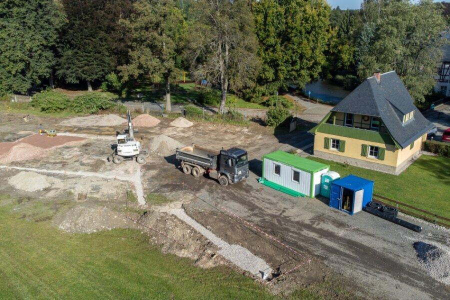Rodewisch baut Wasserspielplatz und Rollparcours für Radfahrer