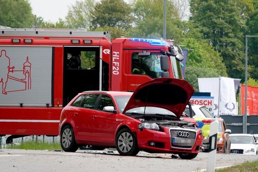 Autofahrerin bei Unfall schwer verletzt