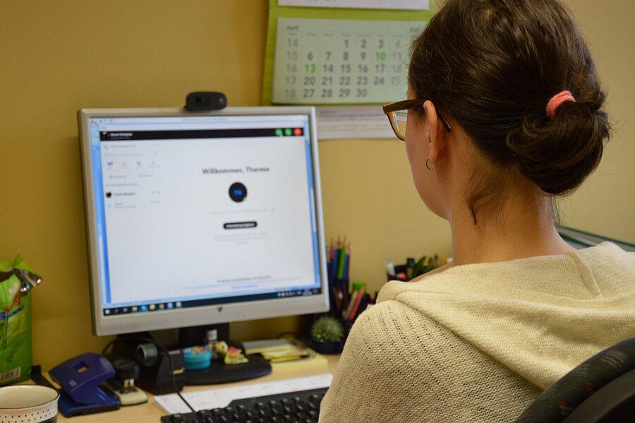 Die Sächsische Krebsgesellschaft möchte Patienten und Angehörige mit Hilfe der Videosoftware Skype beraten.