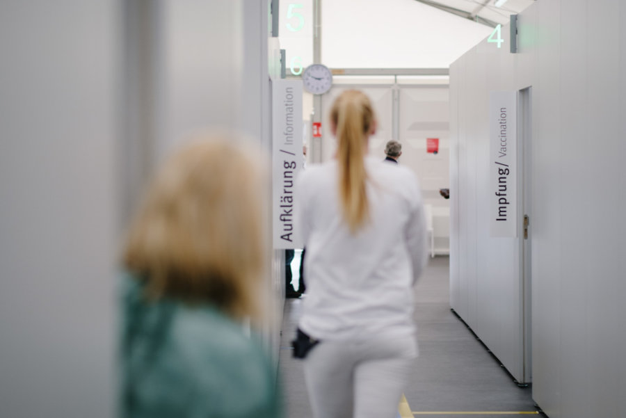 Beim OB von Aue-Bad Schlema schwindet die Hoffnung auf eine Impf-Außenstelle in der Region