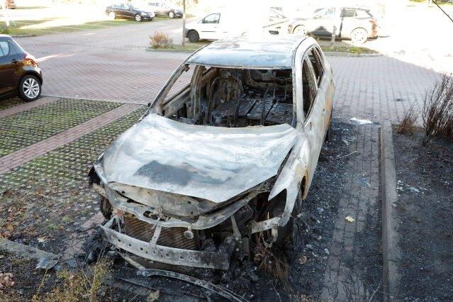 Unbekannte zünden Mazda an