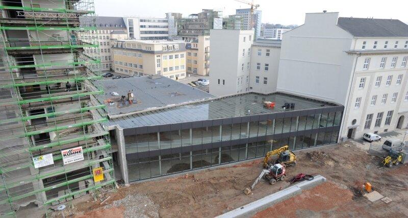 Zwischenbau am Chemnitzer Johannisplatz fällt vorerst kleiner aus