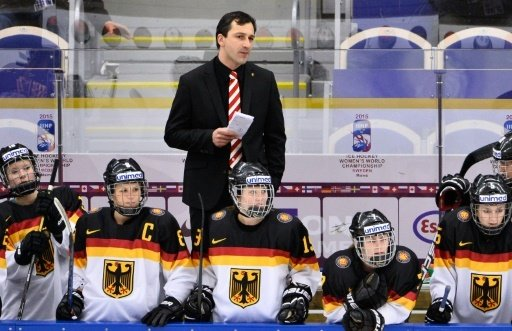Bundestrainer Benjamin Hinterstocker und sein Team