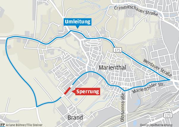 Neue Fahrbahn für den Kreisel am HBK