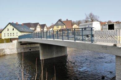 Die Kirchenbrücke in Flöha