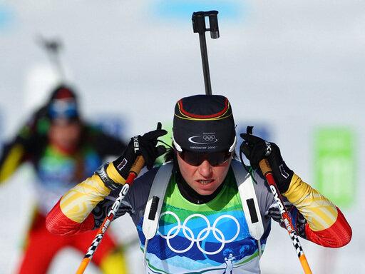 Schlussläuferin Andrea Henkel brachte Bronze ins Ziel