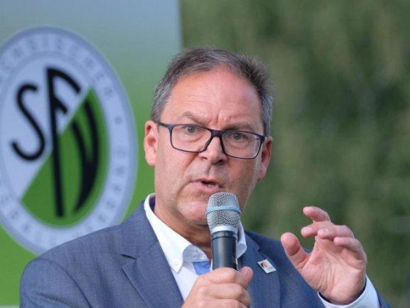 Sachsens Fußball-Präsident Hermann Winkler