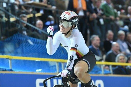 Vogel gewann im März bei der Bahnrand-WM zweimal Gold