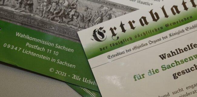 Vermehrt in der Region aufgetaucht: Plakate von Reichsbürgern. Die Szene wird vom Verfassungsschutz beobachtet.