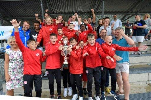 Die U12 von Rot-Weiss Essen holte sich den Titel
