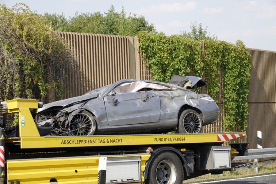 Zwei Unfälle sorgen für Stau - A72 zweieinhalb Stunden dicht
