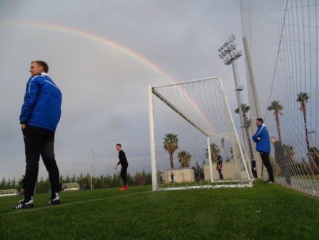 Chemnitzer FC hat erste Trainingseinheiten in der Türkei hinter sich