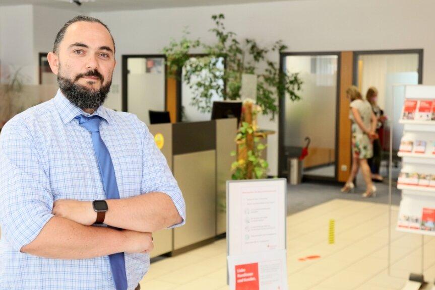 Rico Übensee - Sparkassen Filialleiter