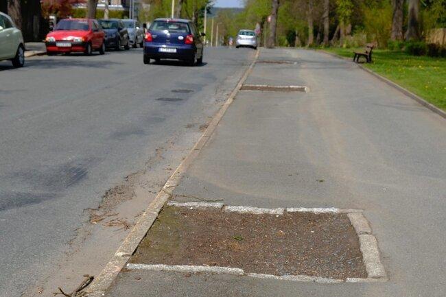 Hier ist an der Agnes-Löscher-Straße Platz für neue Bäume. Die CDU-Fraktion des Stadtrates wagte dazu einen Vorstoß.