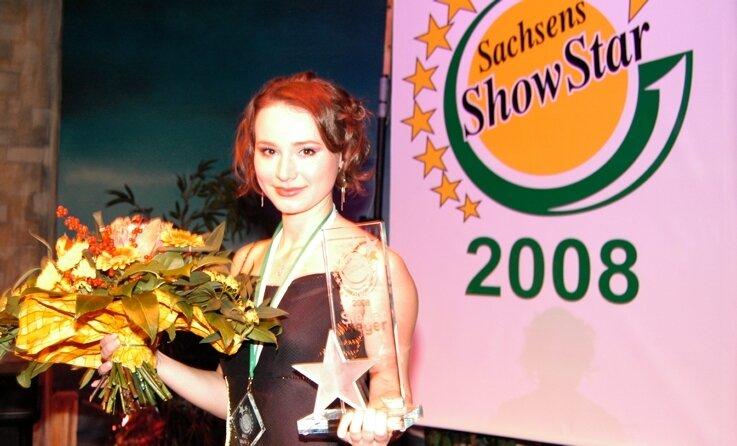 Mit Rammstein und James Bond zum Sieg: Sofya Gorelova aus Moskau war im Titelkampf um Sachsens Showstar nicht zu schlagen.