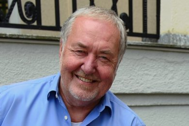 Horst-Jürgen Engel, Betreiber der Gaststätte Sachsenhofstüberl.