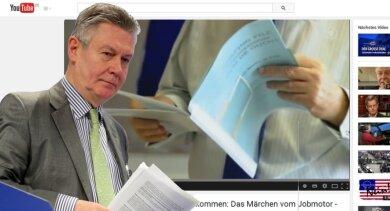 Unfreiwillige Schützenhilfe: Ein Interview mit Ex-EU-Kommissar De Gucht ziert Anti-TTIP-Seiten auf Youtube.