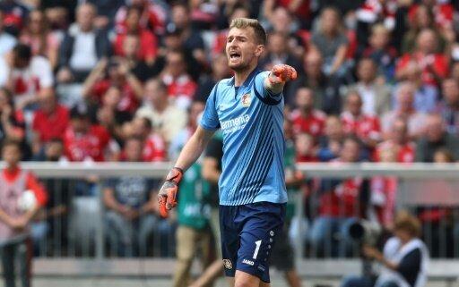 Kann gegen Rasgrad spielen: Lukas Hradecky