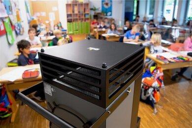Luftfilter wie dieser könnten in Klassenräumen für eine Reduzierung der Virenlast sorgen.