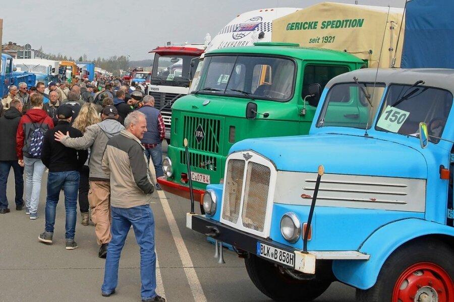 Das IFA-Oldtimertreffen ist das größte Volksfest in Werdau und musste in diesem Jahr erneut ausfallen. 2022 soll es eine Neuauflage geben.