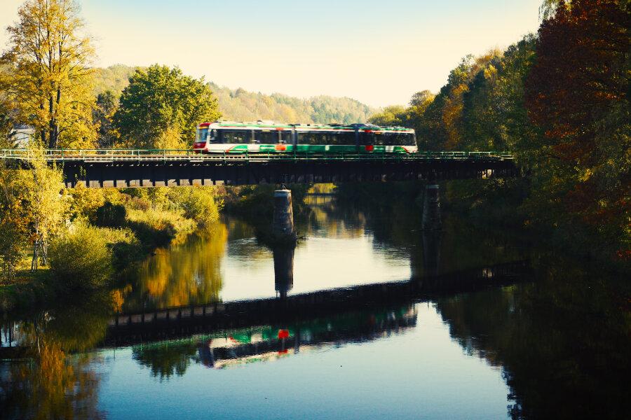 Chemnitzer Modell: So will die Bahn künftig Aue ankoppeln