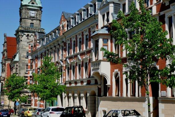 Falkensteins Innenstadt ist geprägt von Häusern aus der Gründerzeit. Die Erneuerung der Gebäude ist oft aufwändig.