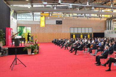 Am Freitag haben 370 Erstsemester ihr Studium in Glauchau aufgenommen.