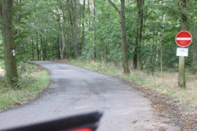 Die Verbindungsstraße zwischen Scholas und Elsterberg kann nur noch in eine Richtung befahren werden. Nun soll es eine Bürgerbefragung zur Einbahnstraßenregelung geben.