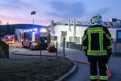 Feuerwehreinsatz am frühen Freitagmorgen in Alberoda.