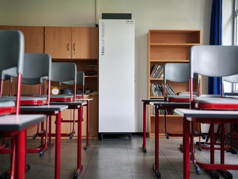 Luftfilter-Förderung für Schulen lässt in Sachsen auf sich warten