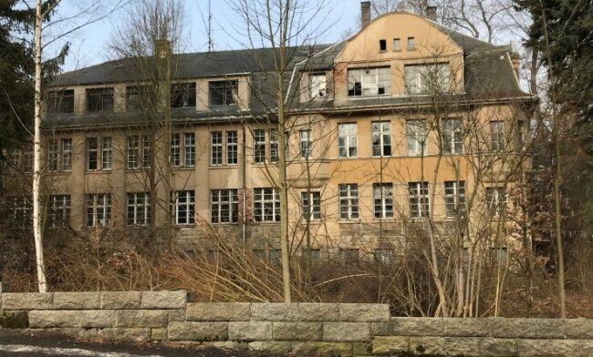 Das ehemalige Kindererholungsheim Bad Brambach.