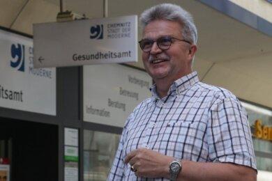 Harald Uerlings leitet seit mehr als sechs Jahren das Chemnitzer Gesundheitsamt.