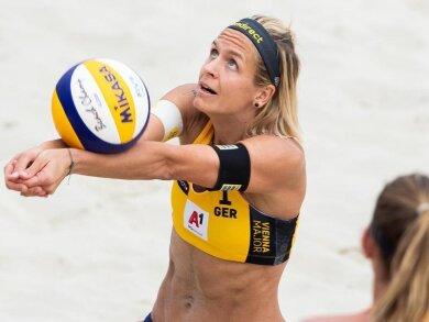 Beachvolleyballerin Laura Ludwig bereitet sich auf die Olympischen Spiele in Tokio 2021 vor.