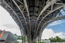 """Die gleiche Bauweise wie das """"Blaue Wunder"""" in Dresden: das Chemnitzer Viadukt. Die Stahlkonstruktion existiert seit 1909."""