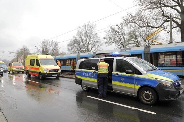 Zu einem tödlichen Verkehrsunfall kam es am Montag in Chemnitz.
